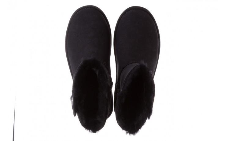 Śniegowce emu ore black, czarny, skóra naturalna 4