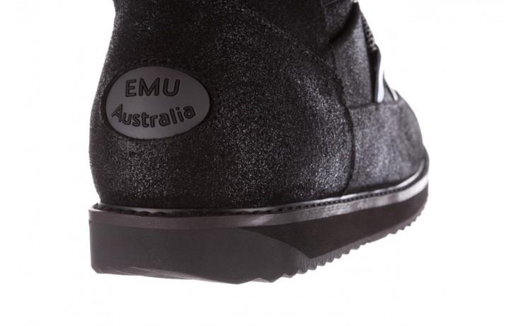 Śniegowce emu rutledge black, czarny, skóra naturalna 8