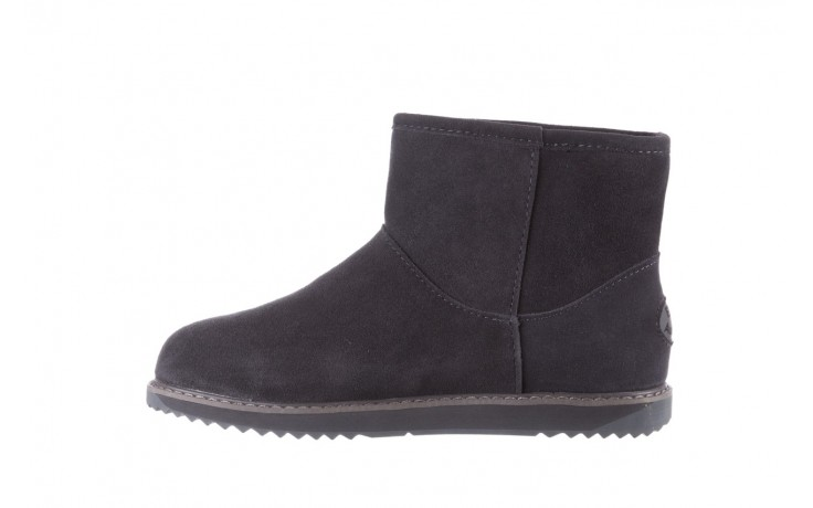 Śniegowce emu paterson classic mini dark grey, szary, skóra naturalna  - śniegowce - śniegowce i kalosze - buty damskie - kobieta 2