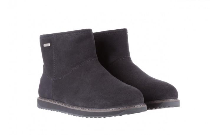 Śniegowce emu paterson classic mini dark grey, szary, skóra naturalna  - śniegowce - śniegowce i kalosze - buty damskie - kobieta 1