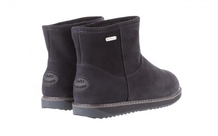 Śniegowce emu paterson classic mini dark grey, szary, skóra naturalna  - śniegowce - śniegowce i kalosze - buty damskie - kobieta 3