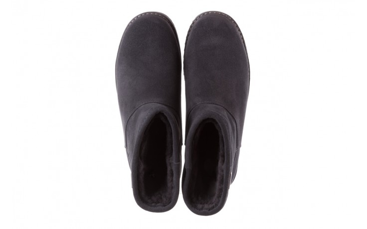Śniegowce emu paterson classic mini dark grey, szary, skóra naturalna  - śniegowce - śniegowce i kalosze - buty damskie - kobieta 4
