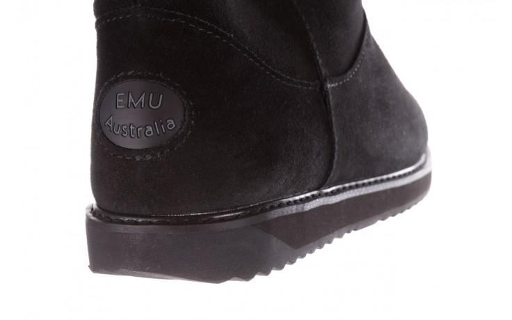 Śniegowce emu paterson classic mini black, czarny, skóra naturalna  - śniegowce i kalosze - dla niej  - sale 6