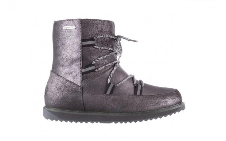 Śniegowce emu rutledge dark grey, szary, skóra naturalna  - śniegowce - śniegowce i kalosze - buty damskie - kobieta