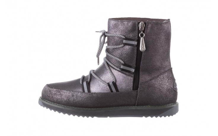Śniegowce emu rutledge dark grey, szary, skóra naturalna  - śniegowce - śniegowce i kalosze - buty damskie - kobieta 2