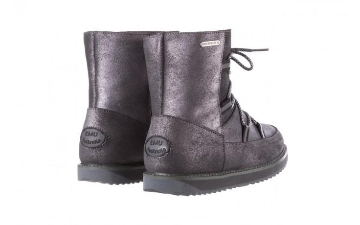 Śniegowce emu rutledge dark grey, szary, skóra naturalna  - śniegowce - śniegowce i kalosze - buty damskie - kobieta 3
