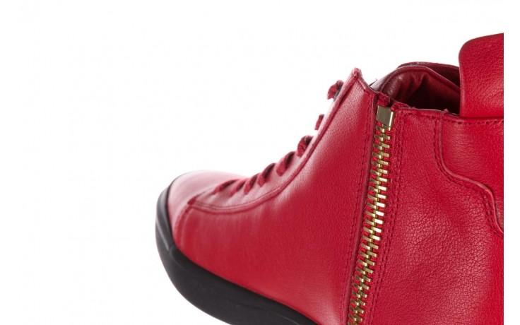 Trampki john doubare m5761-3 red, czerwony, skóra naturalna - mężczyzna 6
