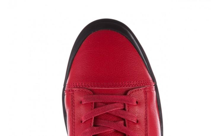 Trampki john doubare m5761-3 red, czerwony, skóra naturalna - mężczyzna 9