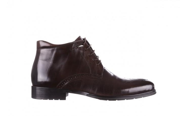Trzewiki john doubare 992b-716g132-r brown, brąz, skóra naturalna - obuwie wizytowe - buty męskie - mężczyzna