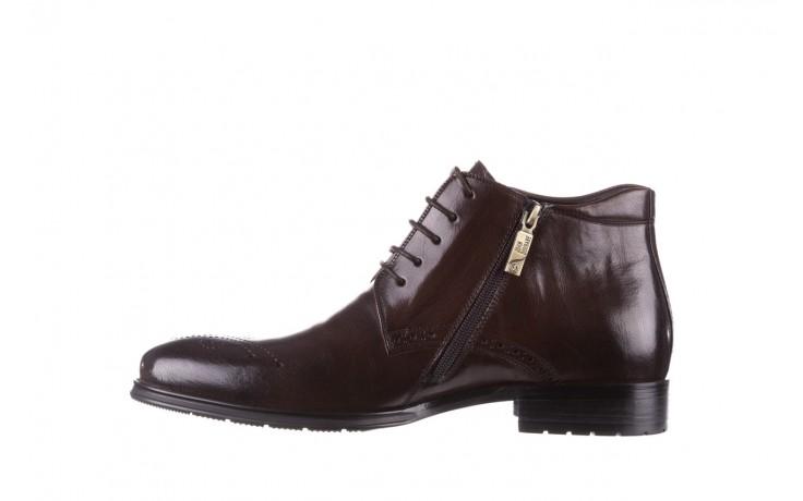 Trzewiki john doubare 992b-716g132-r brown, brąz, skóra naturalna - trzewiki - buty męskie - mężczyzna 2