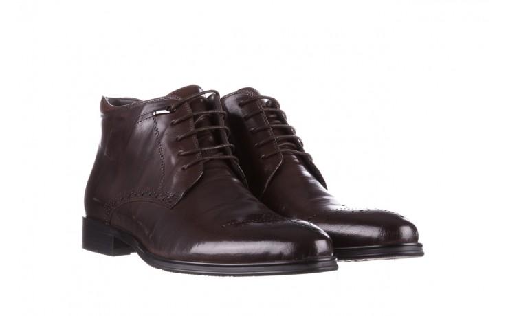 Trzewiki john doubare 992b-716g132-r brown, brąz, skóra naturalna - trzewiki - buty męskie - mężczyzna 1