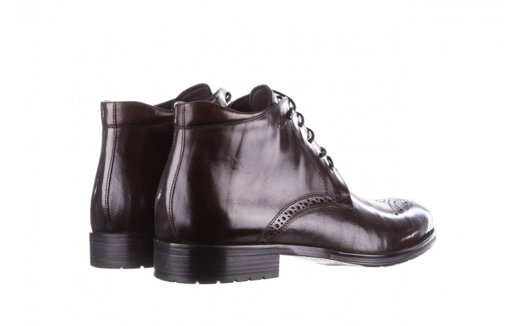 Trzewiki john doubare 992b-716g132-r brown, brąz, skóra naturalna - trzewiki - buty męskie - mężczyzna 3