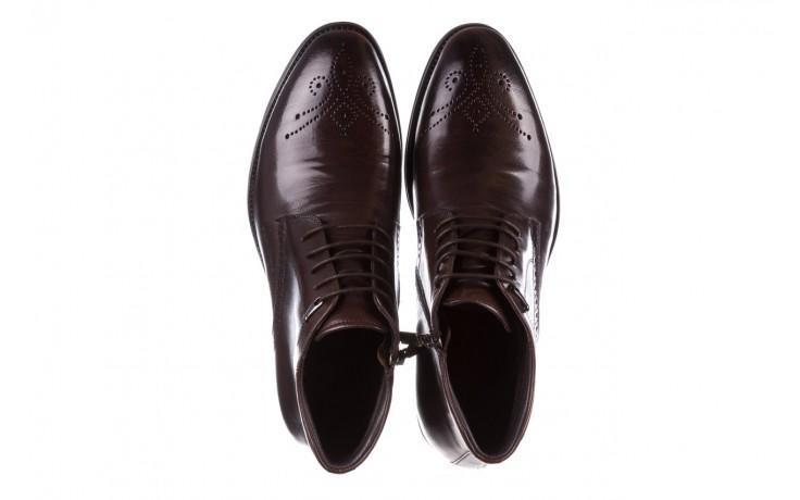 Trzewiki john doubare 992b-716g132-r brown, brąz, skóra naturalna - trzewiki - buty męskie - mężczyzna 4