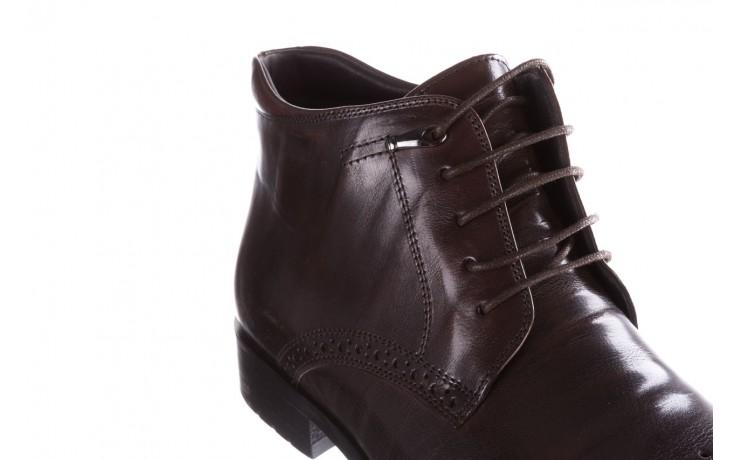 Trzewiki john doubare 992b-716g132-r brown, brąz, skóra naturalna - obuwie wizytowe - buty męskie - mężczyzna 5