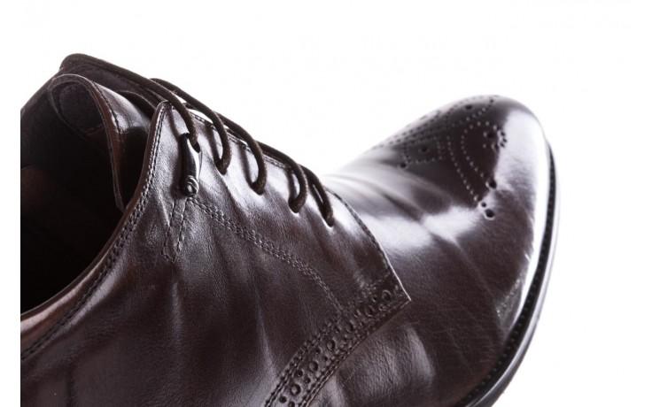 Trzewiki john doubare 992b-716g132-r brown, brąz, skóra naturalna - obuwie wizytowe - buty męskie - mężczyzna 6