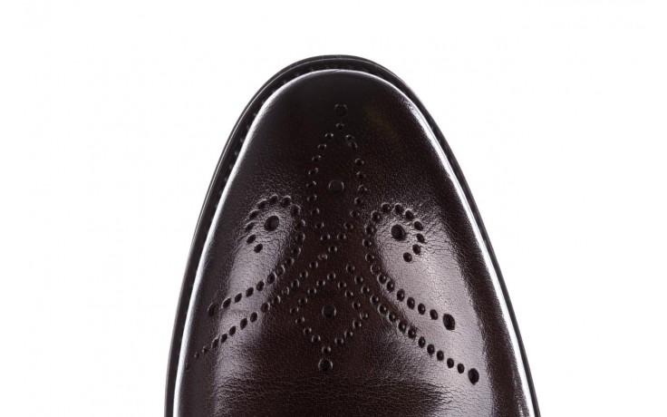 Trzewiki john doubare 992b-716g132-r brown, brąz, skóra naturalna - obuwie wizytowe - buty męskie - mężczyzna 7