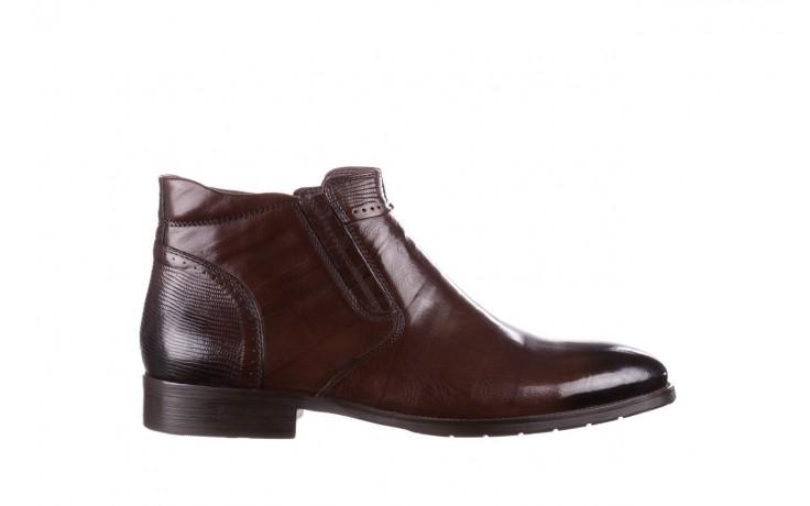 Trzewiki john doubare 212h-50-n002r brown, brąz, skóra naturalna - obuwie wizytowe - buty męskie - mężczyzna