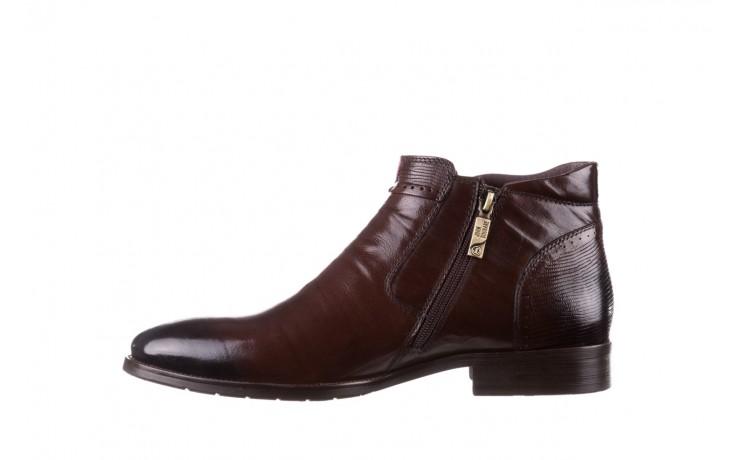 Trzewiki john doubare 212h-50-n002r brown, brąz, skóra naturalna - obuwie wizytowe - buty męskie - mężczyzna 2