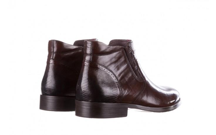 Trzewiki john doubare 212h-50-n002r brown, brąz, skóra naturalna - obuwie wizytowe - buty męskie - mężczyzna 3
