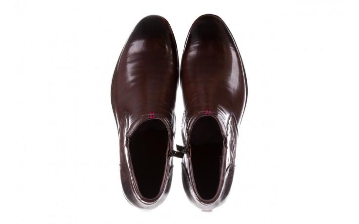 Trzewiki john doubare 212h-50-n002r brown, brąz, skóra naturalna - obuwie wizytowe - buty męskie - mężczyzna 4