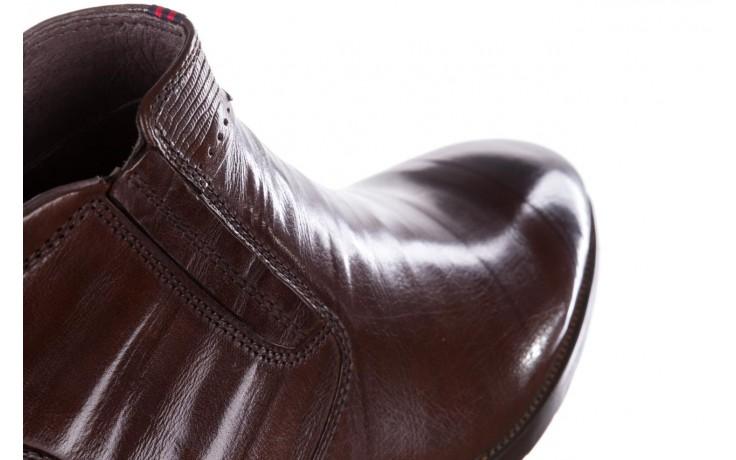 Trzewiki john doubare 212h-50-n002r brown, brąz, skóra naturalna - obuwie wizytowe - buty męskie - mężczyzna 6