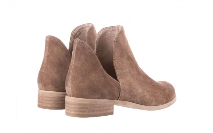 Botki bayla-157 b028-008-p beż, skóra naturalna - sztyblety - botki - buty damskie - kobieta 4