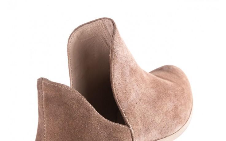 Botki bayla-157 b028-008-p beż, skóra naturalna - sztyblety - botki - buty damskie - kobieta 7