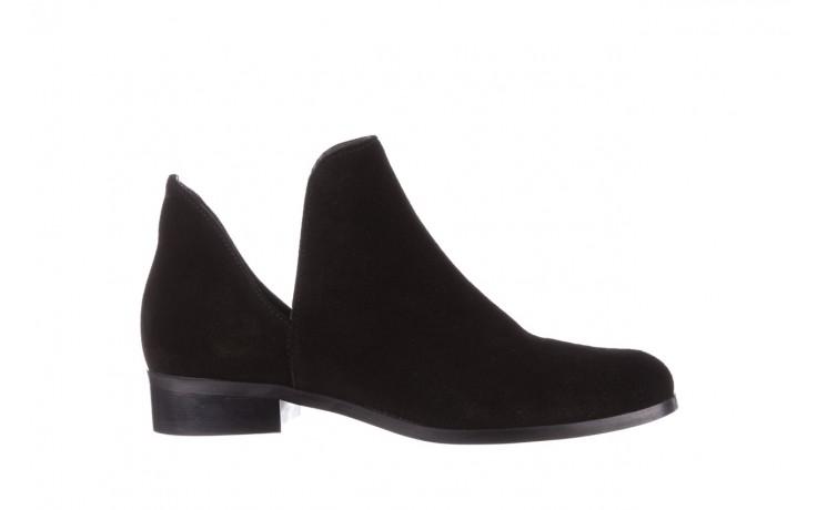Botki bayla-157 b028-126-p czarny, skóra naturalna - zamszowe - botki - buty damskie - kobieta