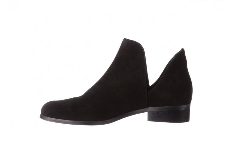 Botki bayla-157 b028-126-p czarny, skóra naturalna - zamszowe - botki - buty damskie - kobieta 3