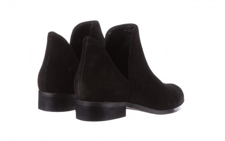 Botki bayla-157 b028-126-p czarny, skóra naturalna - zamszowe - botki - buty damskie - kobieta 5