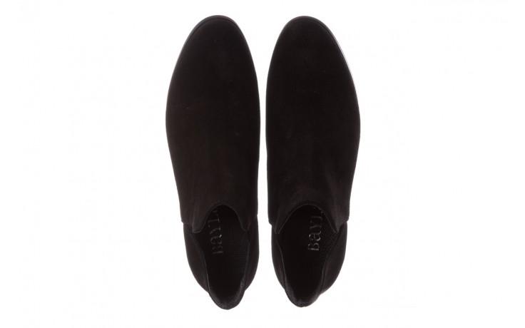 Botki bayla-157 b028-126-p czarny, skóra naturalna - zamszowe - botki - buty damskie - kobieta 4