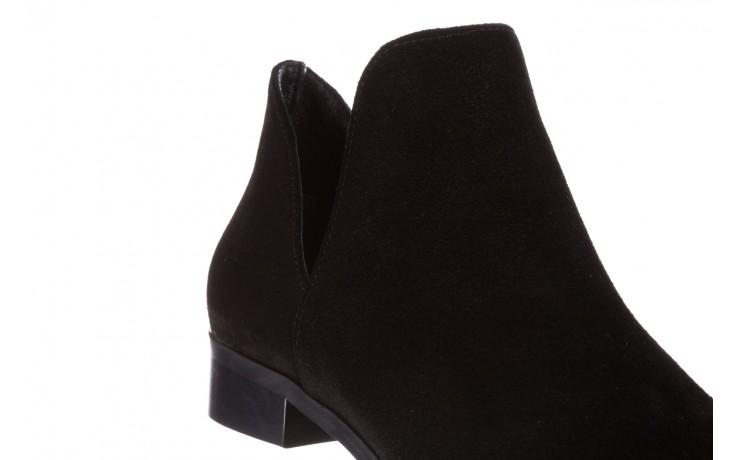 Botki bayla-157 b028-126-p czarny, skóra naturalna - zamszowe - botki - buty damskie - kobieta 6
