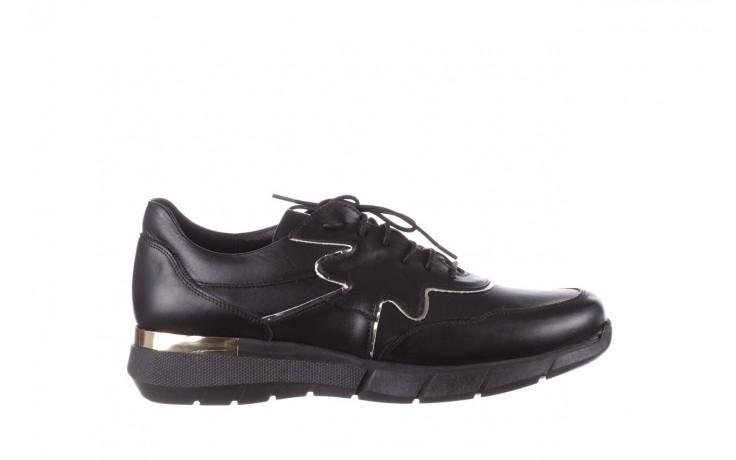 Trampki bayla-157 b026-076-p czarny, skóra naturalna - niskie - trampki - buty damskie - kobieta