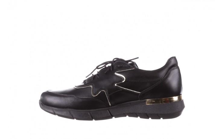 Trampki bayla-157 b026-076-p czarny, skóra naturalna - niskie - trampki - buty damskie - kobieta 3