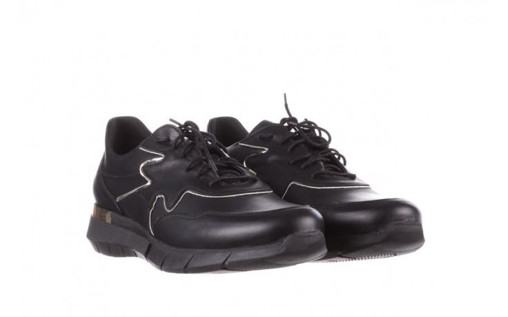 Trampki bayla-157 b026-076-p czarny, skóra naturalna - niskie - trampki - buty damskie - kobieta 1