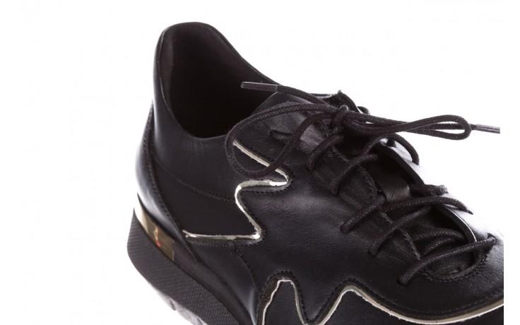 Trampki bayla-157 b026-076-p czarny, skóra naturalna - niskie - trampki - buty damskie - kobieta 6