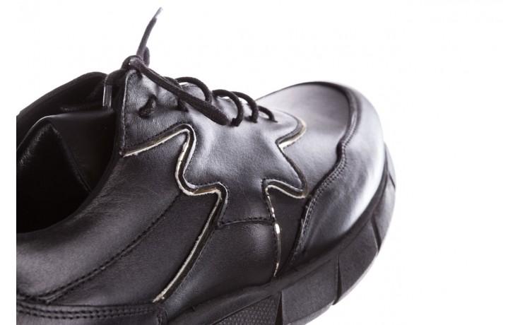 Trampki bayla-157 b026-076-p czarny, skóra naturalna - niskie - trampki - buty damskie - kobieta 8