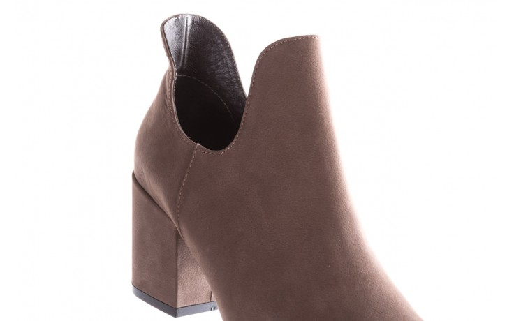 Botki bayla-157 b030-007-p szary, skóra naturalna - sztyblety - botki - buty damskie - kobieta 6