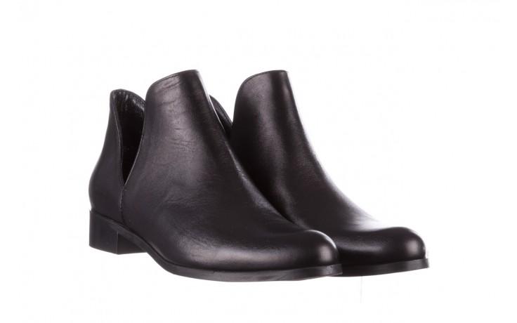 Botki bayla-157 b028-076-p czarny, skóra naturalna - sztyblety - botki - buty damskie - kobieta 1