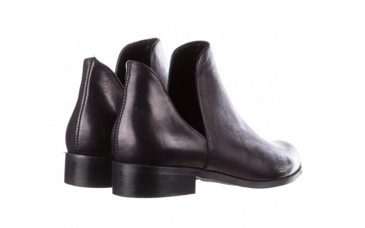 Botki bayla-157 b028-076-p czarny, skóra naturalna - sztyblety - botki - buty damskie - kobieta 5