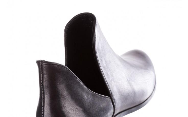 Botki bayla-157 b028-076-p czarny, skóra naturalna - sztyblety - botki - buty damskie - kobieta 6