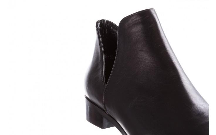 Botki bayla-157 b028-076-p czarny, skóra naturalna - sztyblety - botki - buty damskie - kobieta 7