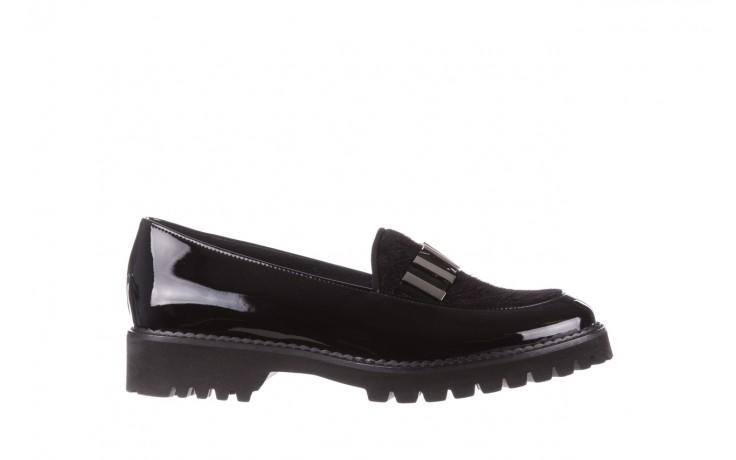 Półbuty bayla-157 b023-126-p czarny, skóra naturalna lakierowana - półbuty - buty damskie - kobieta
