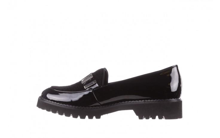 Półbuty bayla-157 b023-126-p czarny, skóra naturalna lakierowana - półbuty - buty damskie - kobieta 3