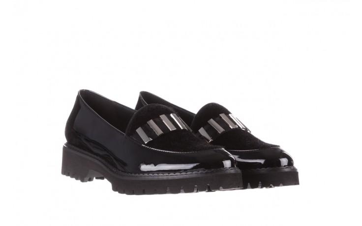 Półbuty bayla-157 b023-126-p czarny, skóra naturalna lakierowana - półbuty - buty damskie - kobieta 1