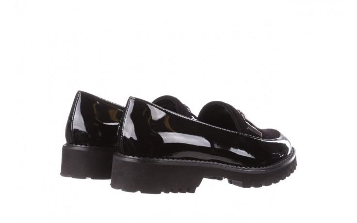Półbuty bayla-157 b023-126-p czarny, skóra naturalna lakierowana - półbuty - buty damskie - kobieta 4