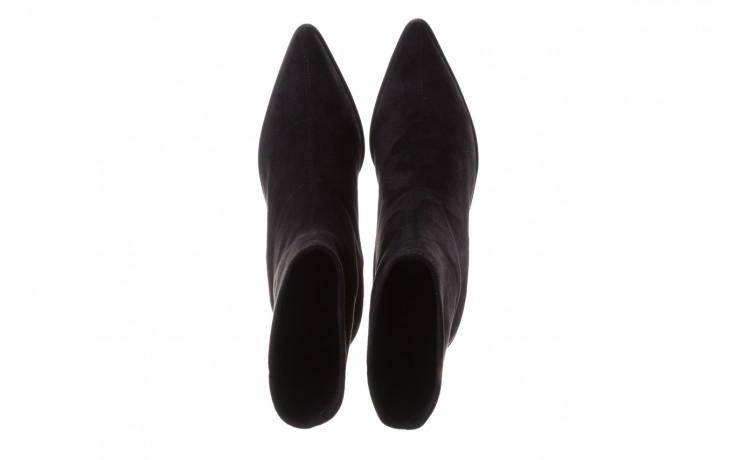 Botki sca'viola e-28 black, czarny, materiał - sca`viola - nasze marki 5