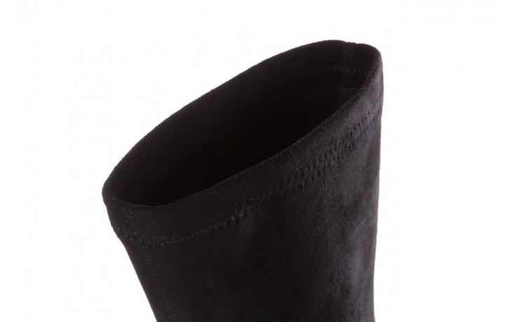 Botki sca'viola e-28 black, czarny, materiał - sca`viola - nasze marki 7