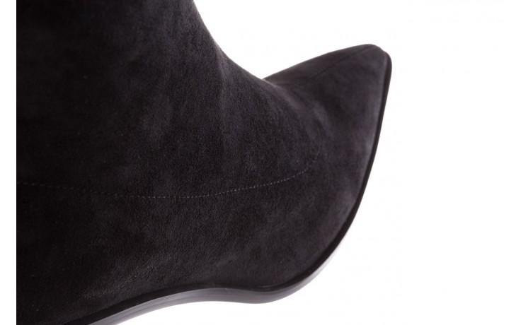 Botki sca'viola e-28 black, czarny, materiał - sca`viola - nasze marki 6