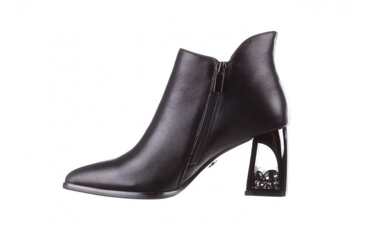 Botki sca'viola f-173 black leather, czarny, skóra naturalna - skórzane - botki - buty damskie - kobieta 3
